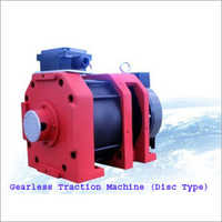 Disc Type Gearless Traction Machine