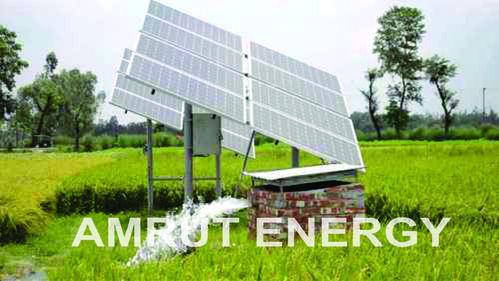 Amrut 10 HP AC Solar Pump