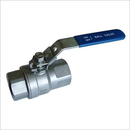 SS Thread Lockable Ball Valve