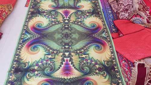 Digital Design Carpet - Peacock