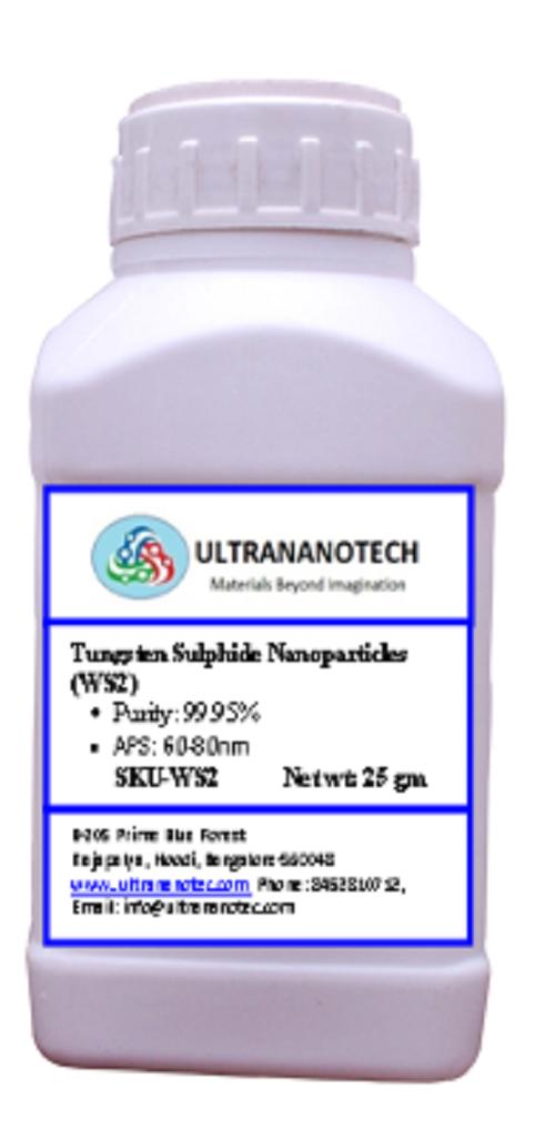 Tungsten Sulphide Nanopowder (WS2)