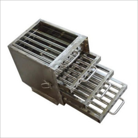 Rectangular P Grate Magnets