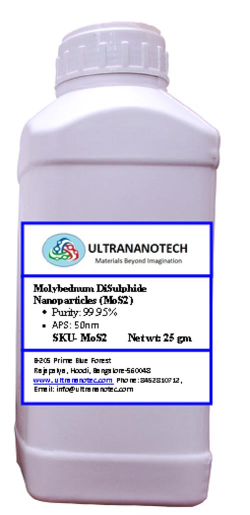 Molybednum DiSulphide Nano Powder (MoS2)