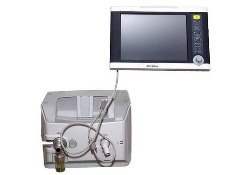 ICU Ventilator with internal compressor and 4 hour battery