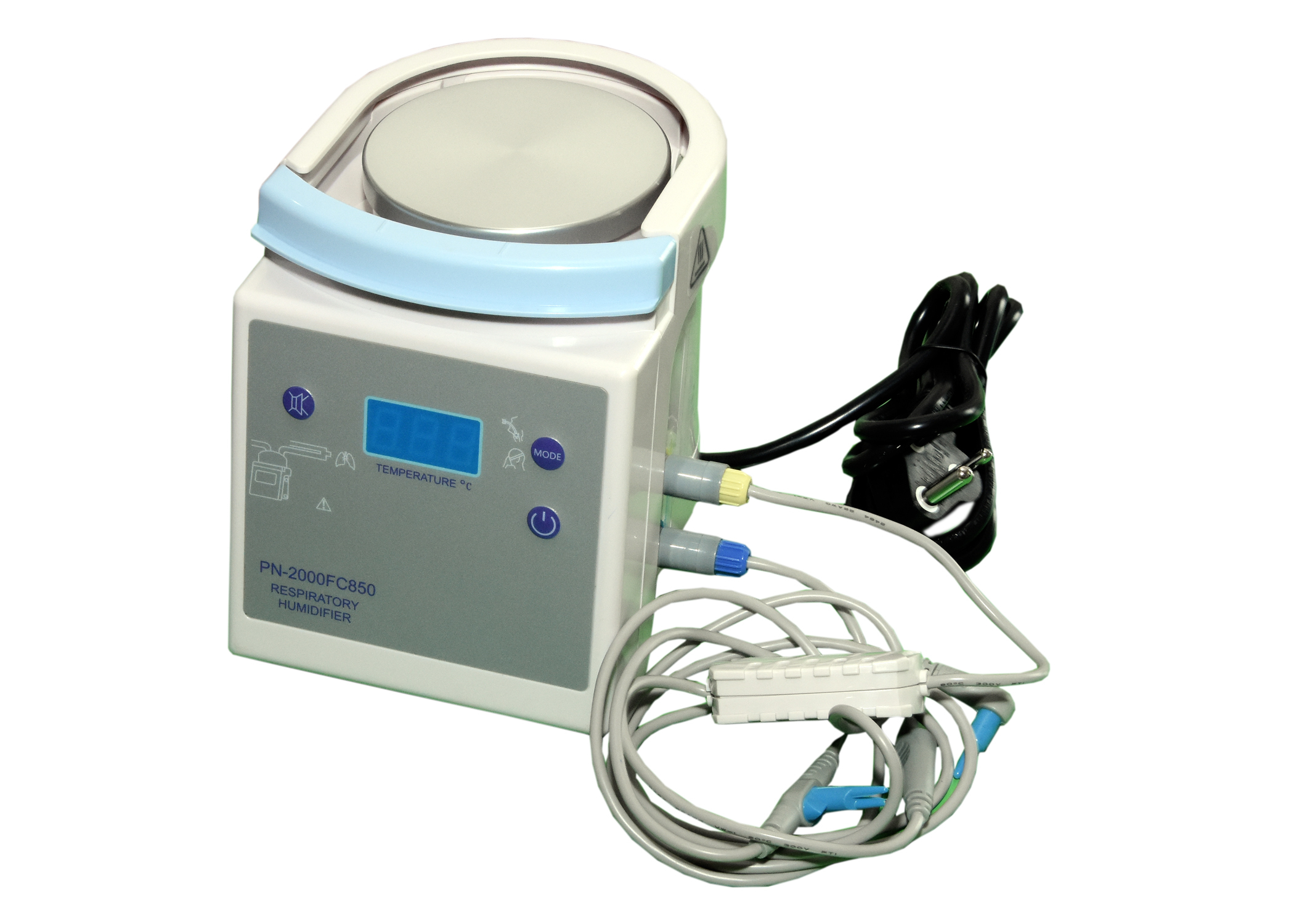 ICU Ventilator with internal compressor and 4 hour battery