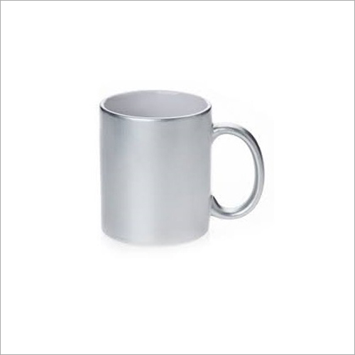 Sublimation Silver Finish Mug