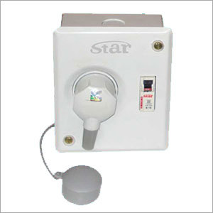A.C. Boxes With Metal Clad Plug And Socket