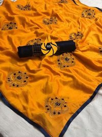 Cotton Silk Fancy Border Saree