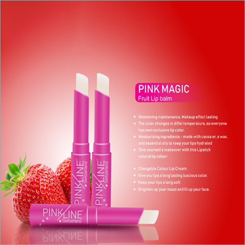 Pink Magic Fruit Lip Balm