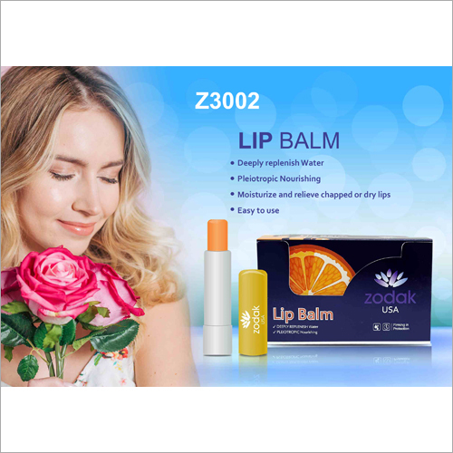 Orange Flavoured Dry Lip Balm
