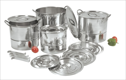 Regular Steamer cum stock pots