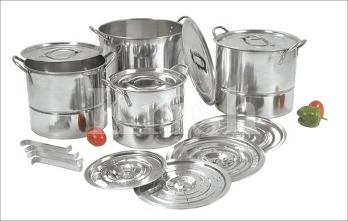 Regular Steamer cum stock pots
