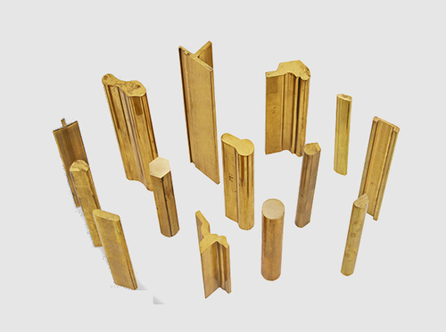 Brass Extrusion Profile Section Rods