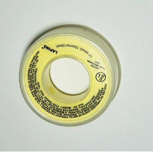 yellow teflon tape