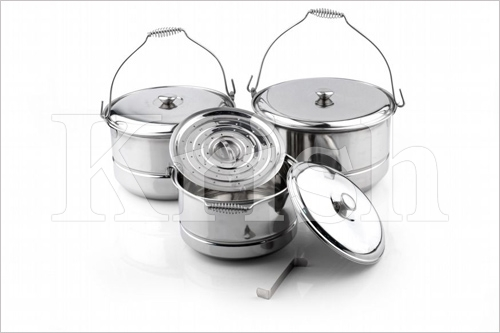 Spring Steamer cooking pots - 3 pcs