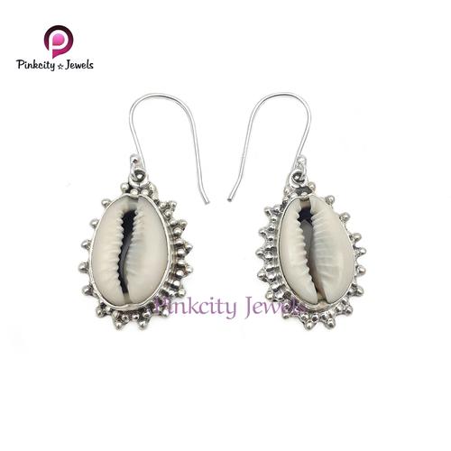 Indian Sea Shell (Codi) 925 Silver Earring
