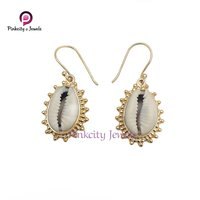 Natural Sea Shell (Codi) 925 Silver Earring