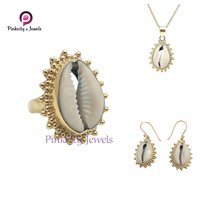 Natural Sea Shell (Codi) 925 Silver Earring