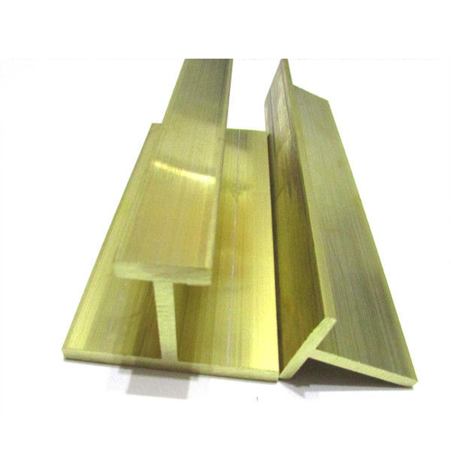 Golden Brass Profile Section