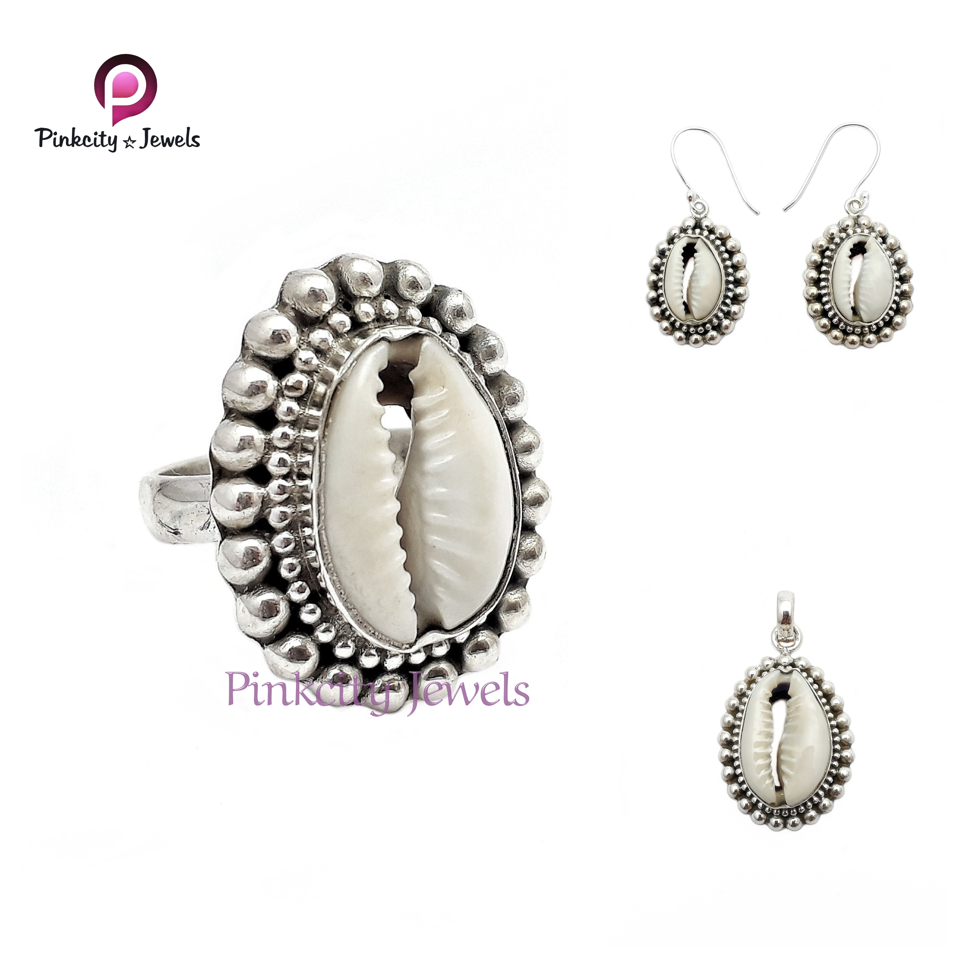 Sea Shell (Codi) 925 Silver Ring