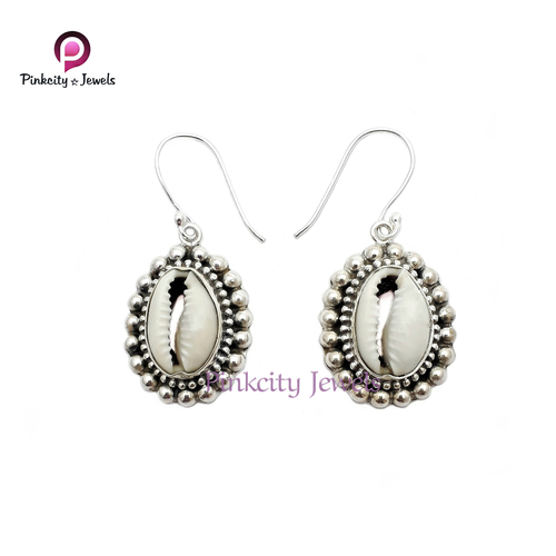 Sea Shel 925 Silver Earring