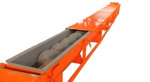 U-Shape Screw Conveyor