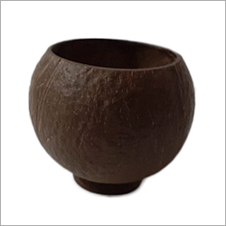 Coconut Shell Unpolished Mug