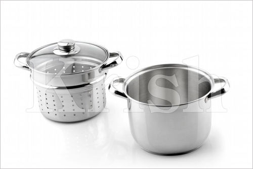 Encapsulated pasta cooker set -3 pcs