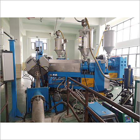 Three extruder Machine
