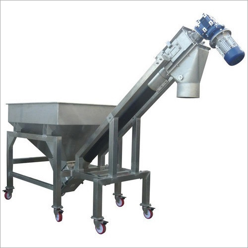 Industrial Inclined Screw Conveyor