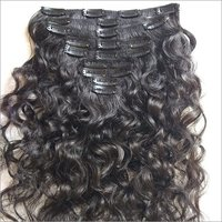 Raw Virgin Curly Clip In Hair