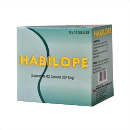 Loperamide Hcl 2mg Capsules