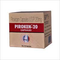 20 mg Piroxicam Capsules