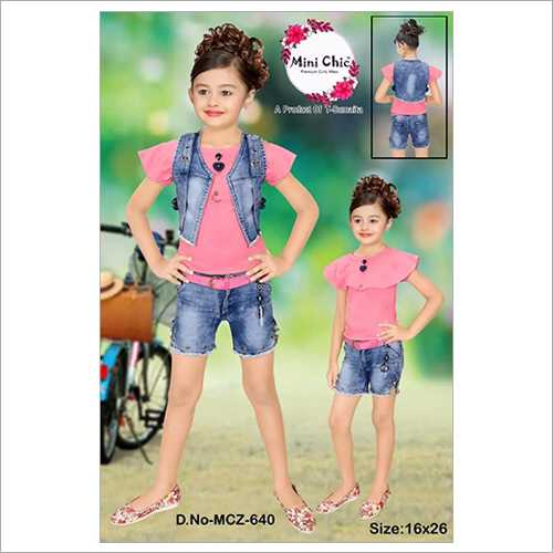 Girls Short And Top