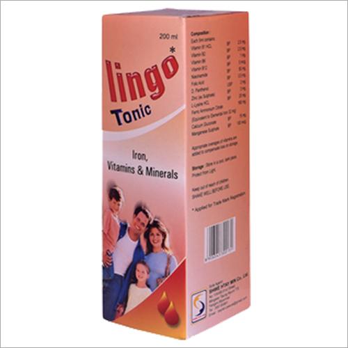 200 ml Iron Vitamins And Minerals Tonic