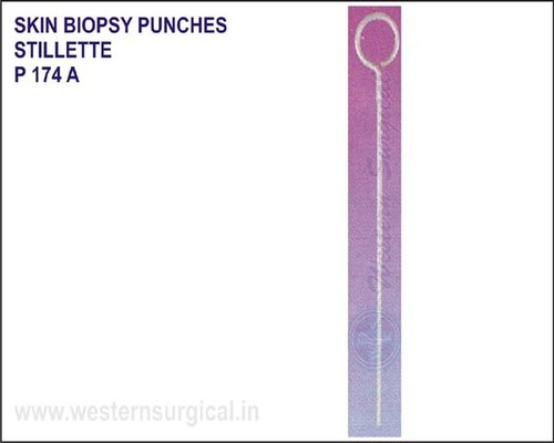 SKIN BIOPSY PUNCHES Disposable biopsy punches
