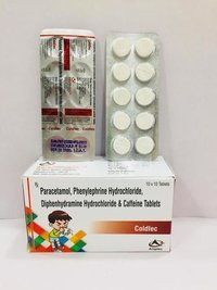 paracetamol anti cold tablet
