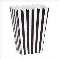 Paper Popcorn Box