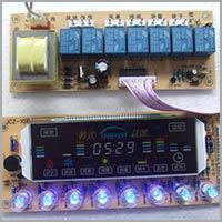 800W Touch Sensitive Integrated Oven Control Board