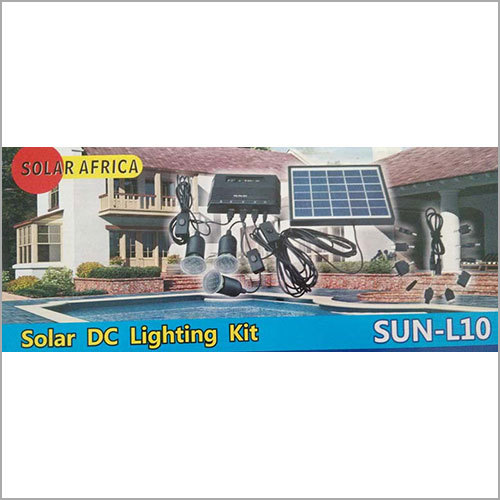 Domestic Solar DC Lighting KIt