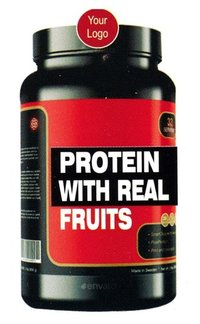 protein with fruits