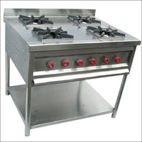 4 Burner Continental Cooking Gas Range