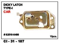 Dicky Latch Type-I Car
