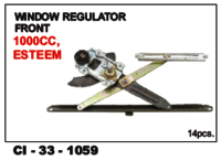 Window Regulator Front 1000cc, Esteem