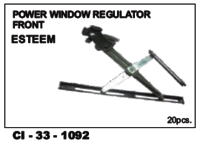 Power Window Regulator Front Esteem