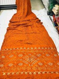 Gaji Silk Bandhani Sarees