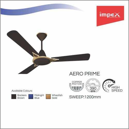 IMPEX Ceiling Fan (AERO PRIME BROWN)