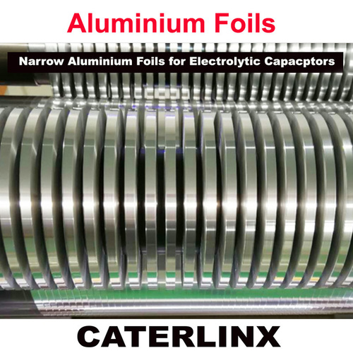 Narrow Plain Aluminium Foils for Electrolytic Capacitor Use