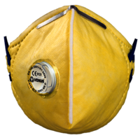 Venus V-410 V Yellow Respirator