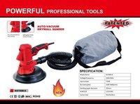 Auto vacuum drywall sander